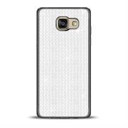 Glamour Schutzhülle Backcover für Samsung Galaxy A5 2016 Silikon Case im Bling Design Rahmen