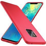 Schutzhülle für Huawei Mate 20 Pro Handy Schutz Hülle Silikon Case Luxuriös Cover