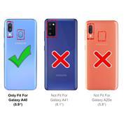 Schutzhülle für Samsung Galaxy A40 Handy Schutz Hülle Silikon Case Luxuriös Cover