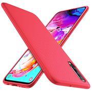 Schutzhülle für Samsung Galaxy A70 / A70s Handy Schutz Hülle Silikon Case Luxuriös Cover