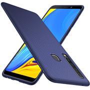 Schutzhülle für Samsung Galaxy A9 2018 Handy Schutz Hülle Silikon Case Luxuriös Cover