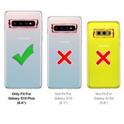 Schutzhülle für Samsung Galaxy S10 Plus Handy Schutz Hülle Silikon Case Luxuriös Cover