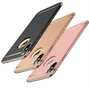 Matte Schutz Hülle für Apple iPhone XS Max Backcover Handy Case
