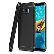 Glamour Hardcase für Samsung Galaxy S6 Hülle [robust] Schutz Cover Tasche