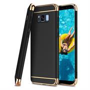 Glamour Hardcase für Samsung Galaxy S6 Edge Hülle [robust] Schutz Cover Tasche