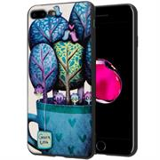 Hoco Colored Case für Apple iPhone 7 Plus / 8 Plus Handy Hülle mit stylischem Motiv Schutz Cover