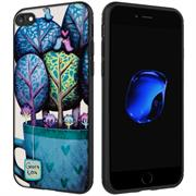 Schutz Hülle für Apple iPhone 7 / 8 Backcover Handy Case Gemälde