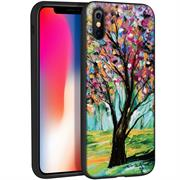 Schutz Hülle für Apple iPhone X / XS Backcover Handy Case Gemälde