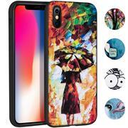 Handyhülle für Apple iPhone X / XS Hülle mit Motiv Schutz Case Slim Back Cover