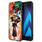 Handyhülle für Samsung Galaxy A3 2017 Hülle mit Motiv Schutz Case Slim Back Cover