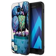 Schutz Hülle für Samsung Galaxy A5 2017 Backcover Handy Case Gemälde