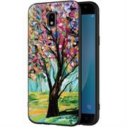 Hoco Colored Case für Samsung Galaxy J3 2017 Handy Hülle mit stylischem Motiv Schutz Cover