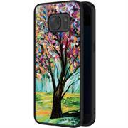Hoco Colored Case für Samsung Galaxy S7 Edge Handy Hülle mit stylischem Motiv Schutz Cover