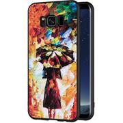 Handyhülle für Samsung Galaxy S8 Plus Hülle mit Motiv Schutz Case Slim Back Cover