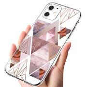 Motiv TPU Cover für Apple iPhone 12 Mini Hülle Silikon Case mit Muster Handy Schutzhülle