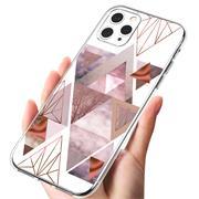 Motiv TPU Cover für Apple iPhone 12 / 12 Pro Hülle Silikon Case mit Muster Handy Schutzhülle