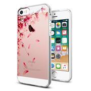 Handy Hülle für Apple iPhone 5 / 5s / SE Case Silikon Muster Cover Schutzhülle