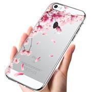 Motiv TPU Cover für Apple iPhone 5 / 5S / SE Hülle Silikon Case mit Muster Handy Schutzhülle
