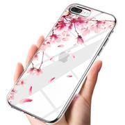 Handy Hülle für Apple iPhone 7 Plus / 8 Plus Case Silikon Muster Cover Schutzhülle