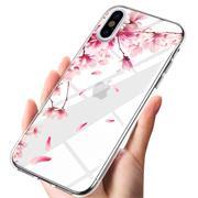 Motiv TPU Cover für Apple iPhone X / XS Hülle Silikon Case mit Muster Handy Schutzhülle