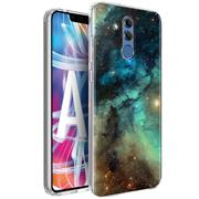 Handy Hülle für Huawei Mate 20 Lite Case Silikon Muster Cover Schutzhülle