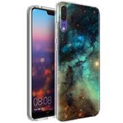 Motiv TPU Cover für Huawei P20 Hülle Silikon Case mit Muster Handy Schutzhülle