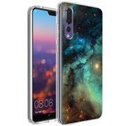 Motiv TPU Cover für Huawei P20 Pro Hülle Silikon Case mit Muster Handy Schutzhülle