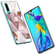 Motiv Cover für Huawei P40 Lite Hülle Silikon Case Handy Schutzhülle