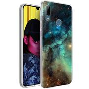 Motiv TPU Cover für Huawei P Smart 2019 Hülle Silikon Case mit Muster Handy Schutzhülle