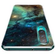 Schutzhülle für Huawei P Smart 2019 Hülle mit stylischem Motiv Silikon Case