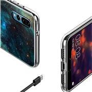 Schutzhülle für Huawei P20 Hülle mit stylischem Motiv Silikon Case
