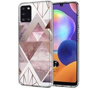 Motiv Cover für Samsung Galaxy A31 Hülle Silikon Case Handy Schutzhülle