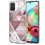 Motiv TPU Cover für Samsung Galaxy A41 Hülle Silikon Case mit Muster Handy Schutzhülle