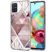 Motiv TPU Cover für Samsung Galaxy A71 Hülle Silikon Case mit Muster Handy Schutzhülle