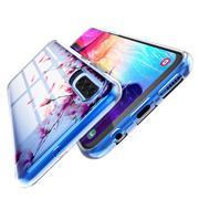 Handy Hülle für Samsung Galaxy A9 2018 Case Silikon Muster Cover Schutzhülle