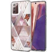 Motiv TPU Cover für Samsung Galaxy Note 20 Hülle Silikon Case mit Muster Handy Schutzhülle