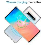 Handy Hülle für Samsung Galaxy S10 Plus Case Silikon Muster Cover Schutzhülle
