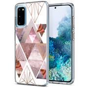 Motiv TPU Cover für Samsung Galaxy S20 FE Hülle Silikon Case mit Muster Handy Schutzhülle