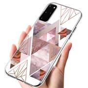 Motiv TPU Cover für Samsung Galaxy S20 Plus Hülle Silikon Case mit Muster Handy Schutzhülle