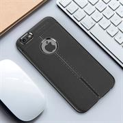 Handy Case für Apple iPhone 6 6S Plus Hülle in einer Leder-Optik Struktur Tasche