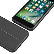 Handy Case für Apple iPhone 6 6S Hülle in einer Leder-Optik Struktur Tasche