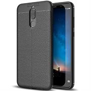 Schutz Hülle für Huawei Mate 10 Lite Backcover Handy Case Leder Optik