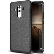 Schutz Hülle für Huawei Mate 10 Pro Backcover Handy Case Leder Optik