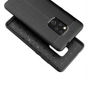 Schutz Hülle für Huawei Mate 20 Backcover Handy Case Leder Optik