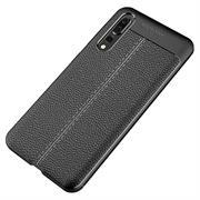 Handy Case für Huawei P20 Pro Hülle in einer Leder-Optik Struktur Tasche