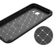 Schutz Hülle für Samsung Galaxy A3 2017 Backcover Case Leder Optik
