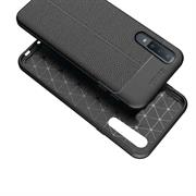 Schutz Hülle für Samsung Galaxy A9 2018 Backcover Handy Case Leder Optik