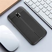 Handy Case für Samsung Galaxy J5 2017 J530 Hülle in einer Leder-Optik Struktur Tasche