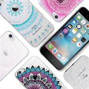 Henna Motiv Hülle für Apple iPhone 6 Plus / 6S Plus Backcover Handy Case
