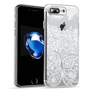 Henna Motiv Hülle für Apple iPhone 8 Backcover Handy Case